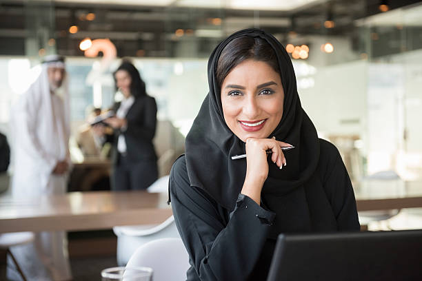 Arab business woman